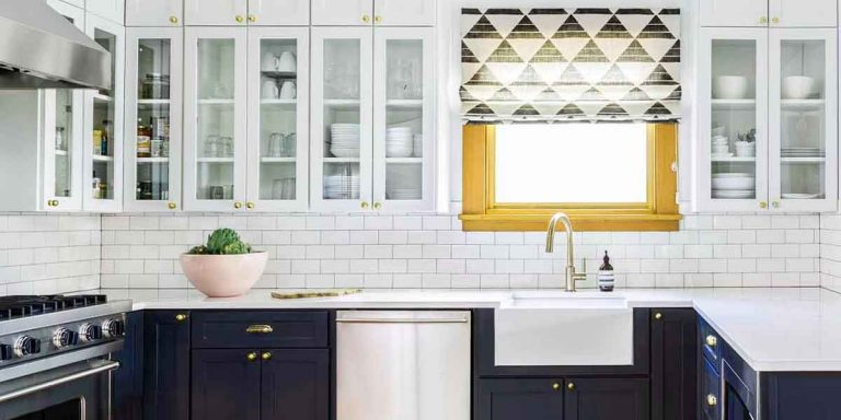 Two-Toned Kitchen Cabinets are a Hot Trend You'll Love